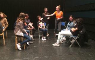 théâtre et adolescence